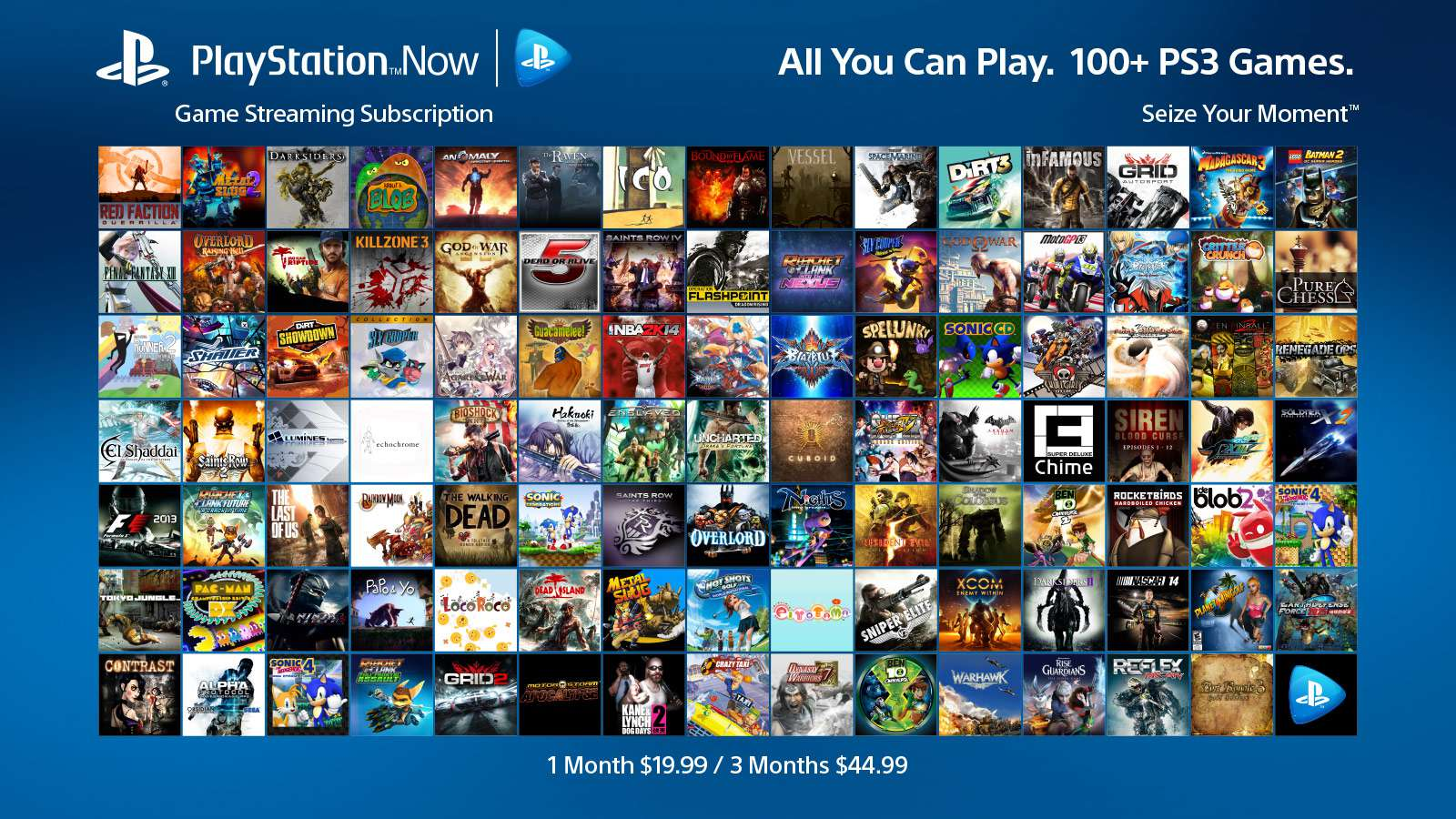 play station games list
