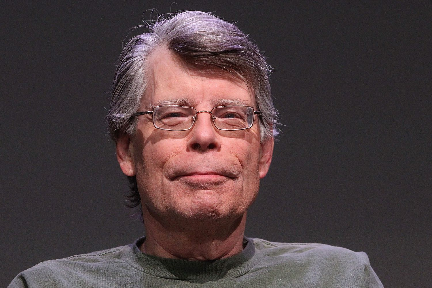 "the life and times of american author stephen king (""stephen king lives in maine,"" the author's page noted ""he does not own a cell phone"") it reached number one on the new york times bestseller list."