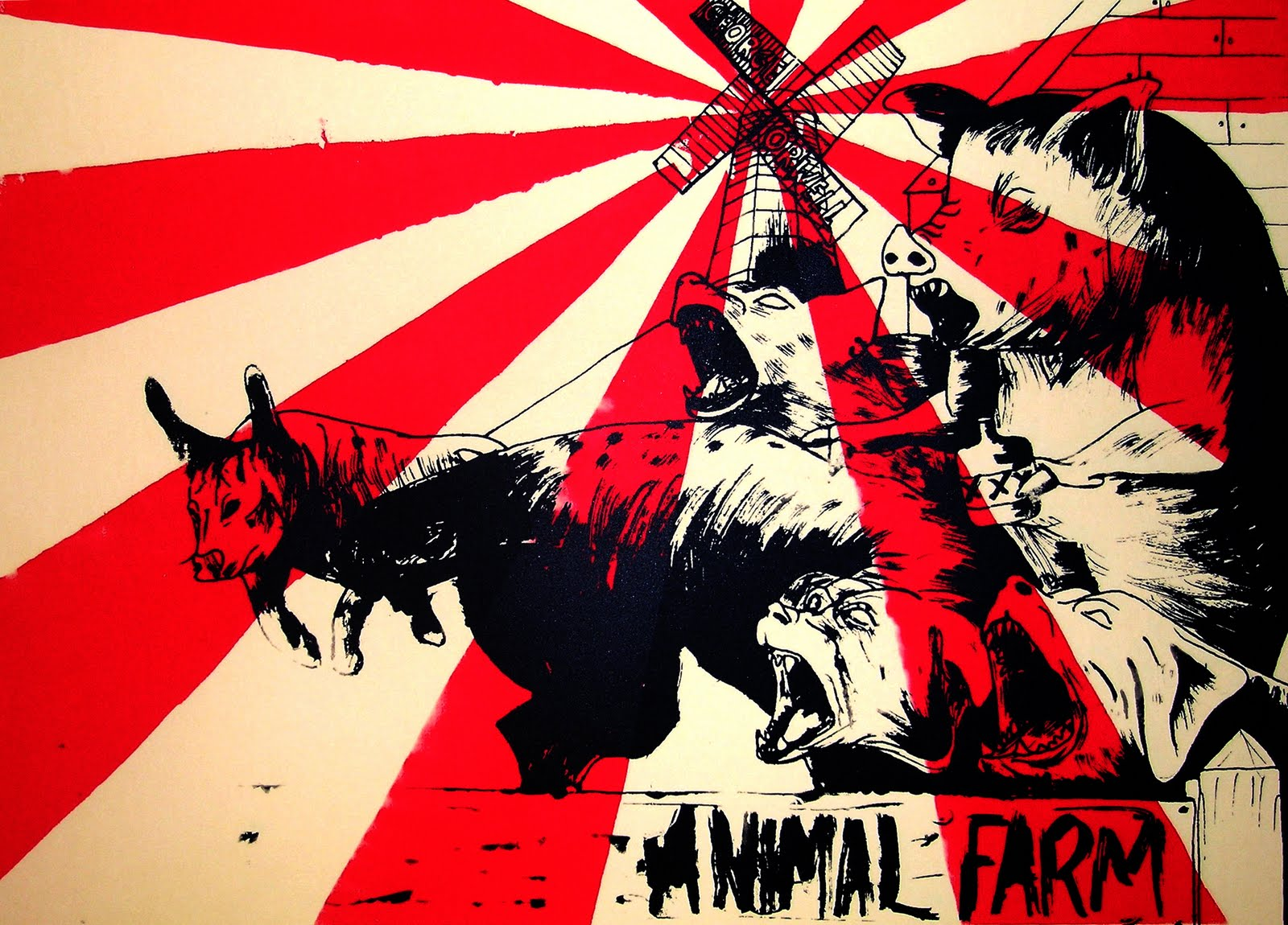 a review of the allegory of stalinist theory in the novel animal farm by george orwell Human nature in animal farm - animal farm by george orwell is a novel based on animal farm, by george orwell, is an allegory animal farm and stalinist.